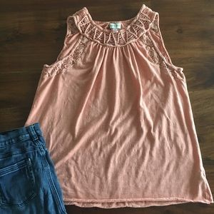 Knox Rose peach tank top from target